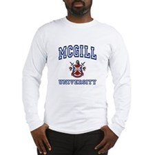MCGILL University Long Sleeve T-Shirt