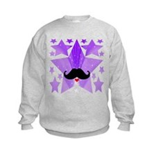 Speak LOVE out loud moustache a Jumpers