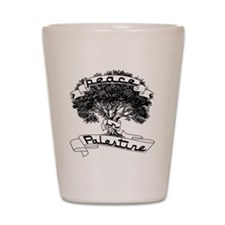 peace_in_palestine_t_shirt Shot Glass