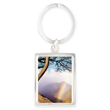 Mountain Rainbow Keychains
