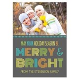 Christmas photo cards 5 x 7 Flat Cards