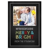 Holiday photo card 5 x 7 Flat Cards