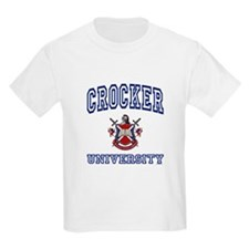 CROCKER University Kids T-Shirt
