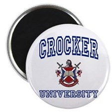 "CROCKER University 2.25"" Magnet (100 pack)"