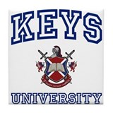 KEYS University Tile Coaster