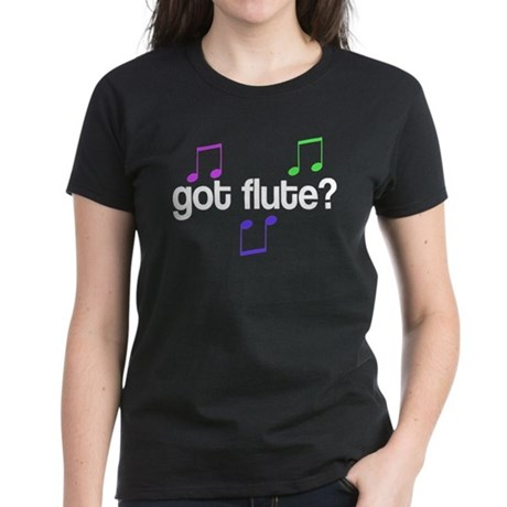 Fun Got Flute Women's Dark T-Shirt