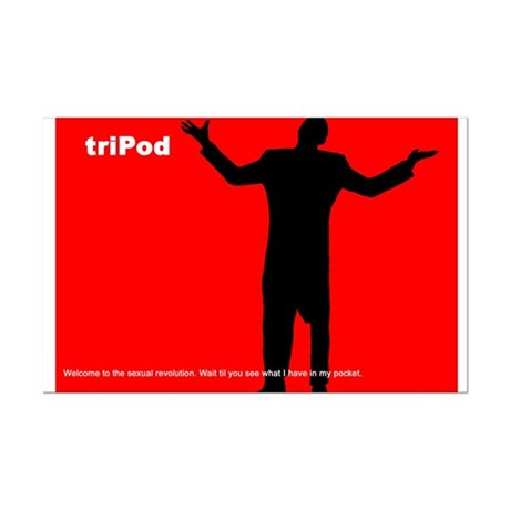 Tripod Mini Poster Print