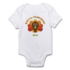 Personalize Babys First Thanksgiving Infant Bodysu