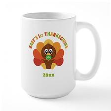 Personalize Babys First Thanksgiving Mug