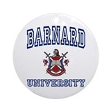 BARNARD University Ornament (Round)