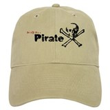 Its Ok, im a Pirate Baseball Cap