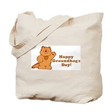 Groundhog's Day! Tote Bag
