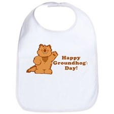 Groundhog's Day! Bib