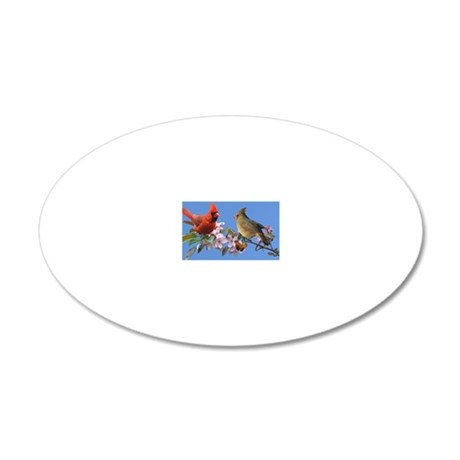 4.25x4 20x12 Oval Wall Decal