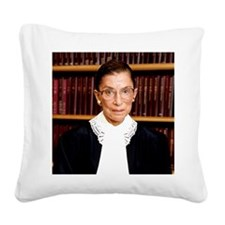 ART Coaster Ruth Bader Ginsbu Square Canvas Pillow