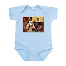 Santa's Sloughi Infant Bodysuit