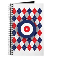 Norwegian Curling Argyle pattern Journal