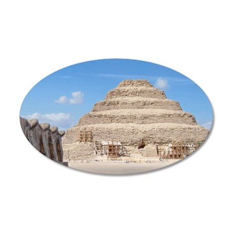 stepyramid1 35x21 Oval Wall Decal