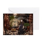 Hecate Queen of Sacred Knowle Greeting Cards (Pack