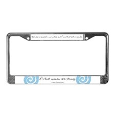 Childbirth License Plate Frame