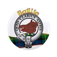 "Baillie Clan 3.5"" Button"