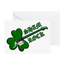 Sham Rock 4 drk Greeting Card