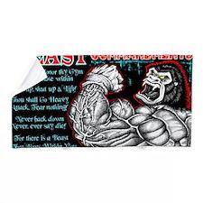 4-Commandments of the BEAST Beach Towel