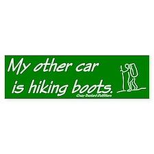 Hiking Bumper Bumper Sticker