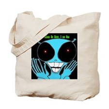 3-Alien copy Tote Bag