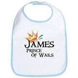 James Prince of Wails Bib