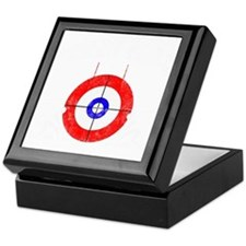 Curling -dark Keepsake Box