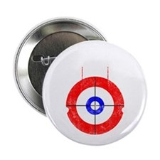 "Curling -dark 2.25"" Button"