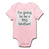I'm going to be a BIG brother! (onesie, blue)