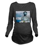 Buddha Long Sleeve Maternity T-Shirt