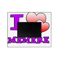 I Love Memere Fench Grandmother Picture Frame