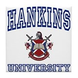 HANKINS University Tile Coaster