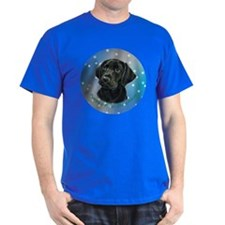 Lab Pup in Snow T-Shirt