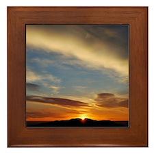 journo_sunrise Framed Tile
