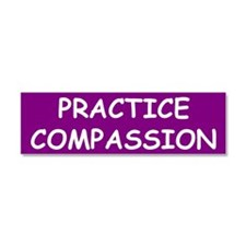 Cute Compassion Car Magnet 10 x 3