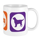 Eat Sleep Retriever Small Mugs