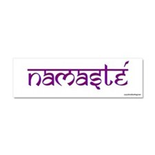 Cute Namaste Car Magnet 10 x 3