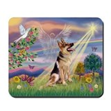 Cloud Angel &amp; G-Shepherd Mousepad