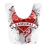 Heart Samurai Bib
