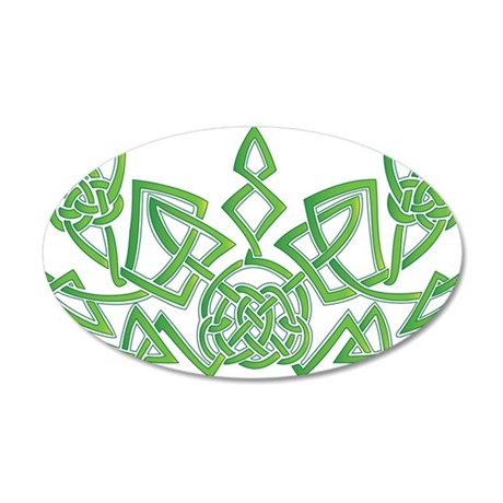 Celtic Design 6 35x21 Oval Wall Decal