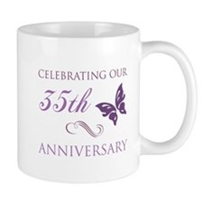 35th Wedding Aniversary (Butterfly) Mug