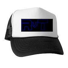RvT Black Hat Trucker Hat