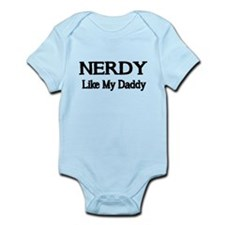 NERDY like my Daddy Body Suit