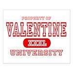Valentine University Small Poster