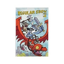 Regular show Rectangle Magnet