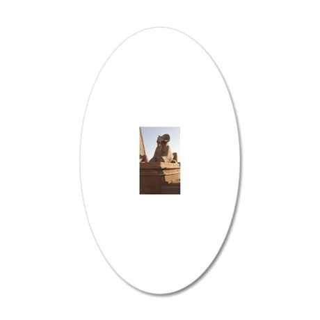 54-H-Fkarnak 20x12 Oval Wall Decal
